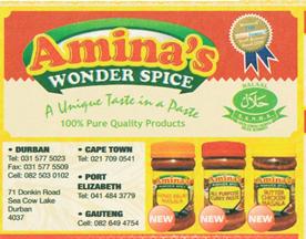 Amina's Wonder Spice
